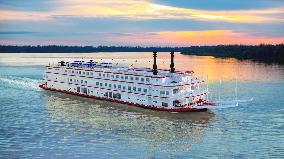 Mississippi River Cruise on the American Countess