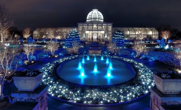 Christmas Aglow in Richmond, Virginia