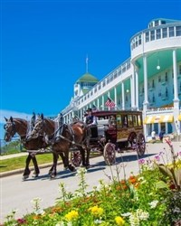 Lilac Festival on Mackinac Island