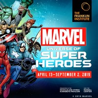 Franklin Institute-Marvel:Universe of Super Heroes