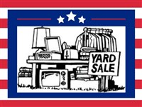 Memorial Day Weekend Yard Sales